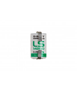 SAFT LS14250 / 1 / 2AA литиевая батарея с выводом под пайку U-tags - 3,6V