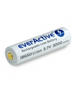 EverActive micro USB 18650 3200mAh (защищенный) - 7A