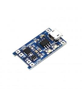 RobotDyn TP4056 Micro-USB Зарядное устройство - 1A