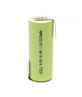 Xcell 4/5 A с выводом под пайку Z-tags - 2200mAh