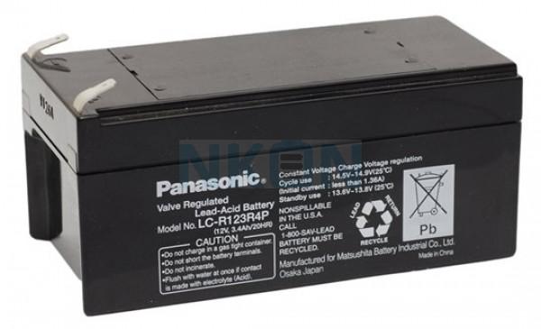 Panasonic 12V 3.4Ah Bleibatterie
