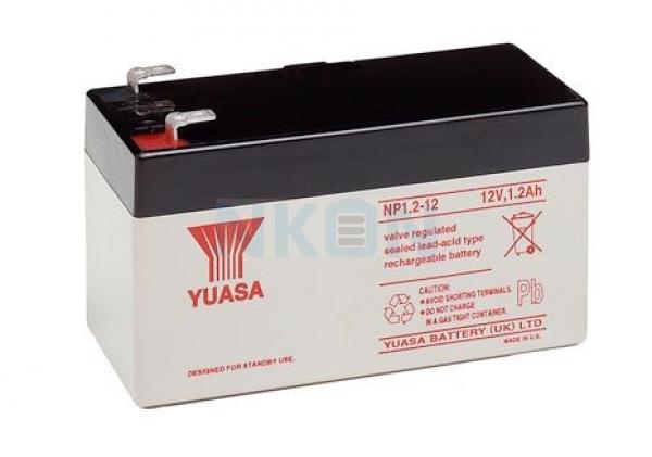 Yuasa 12V 1.2Ah Bleibatterie