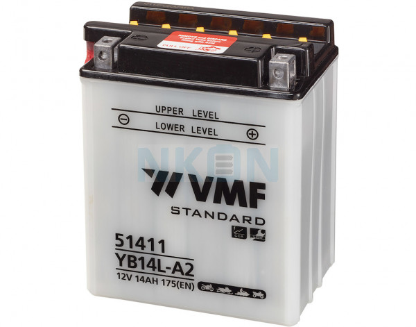 VMF Powersport 12V 14Ah Blei-Säure-Batterie