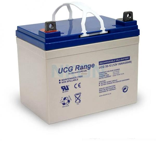 Ultracell Deep Cycle Gel 12V 35Ah Bleibatterie
