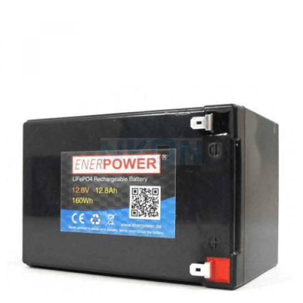 Enerpower 12.8V 12Ah - LiFePo4 (Austausch der Bleibatterie)