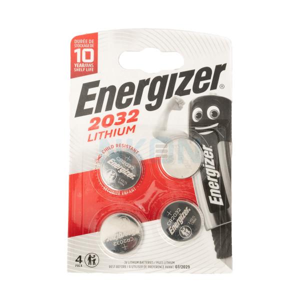 4x Energizer CR2032 - 3V