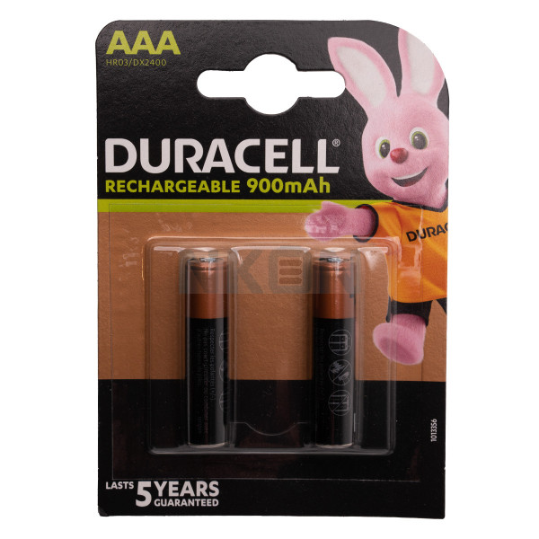 2 AAA Duracell Recharge - 900mAh