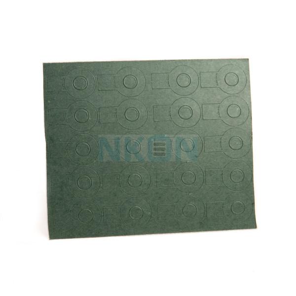 1x18650 Isolierpapier mit Etikett