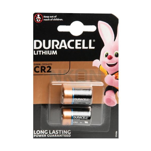 2x CR2 Duracell Lithium - blister - 3V