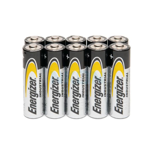 10 AA Energizer industrial - 1.5V