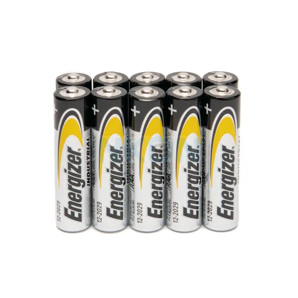10 AAA Energizer industrial - 1.5V