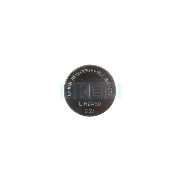LIR2450 wiederaufladbare Li-Ion Knopfzelle - 120mAh