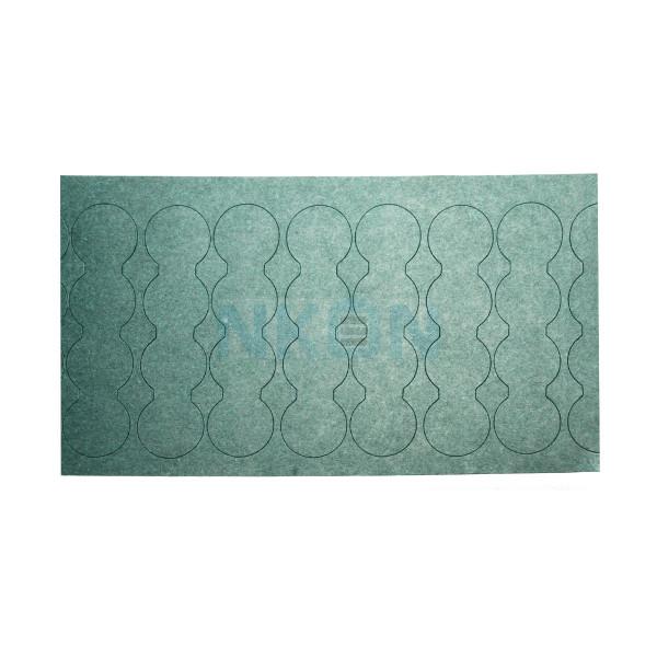 Isolierpapier 4x18650 unten