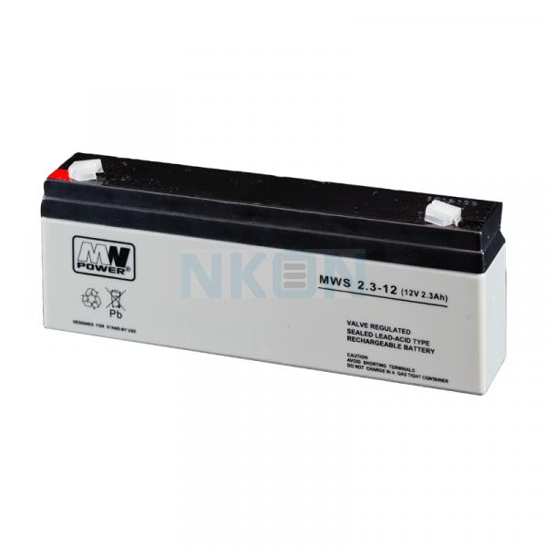 MWPower MWS 12V 2.3Ah Bleibatterie