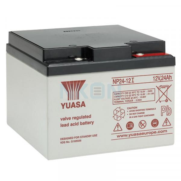 Yuasa 12V 24Ah Bleibatterie