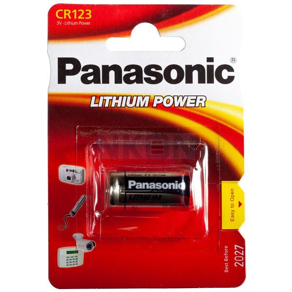 10x CR123A Panasonic Photo Power - blister - 3V
