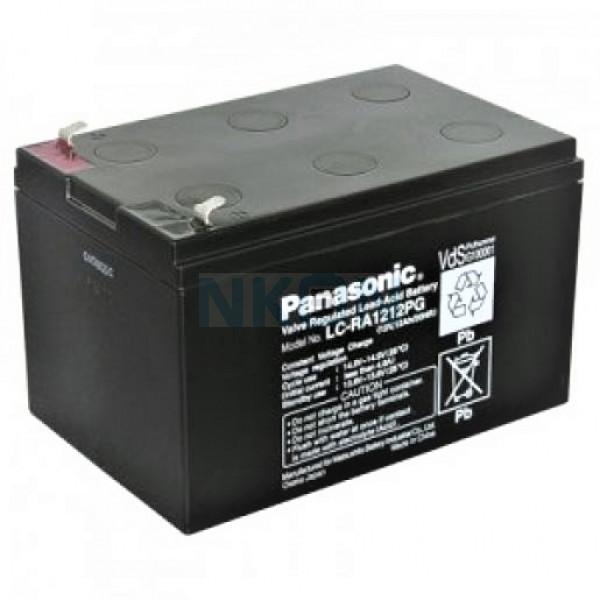 Panasonic 12V 12Ah Bleibatterie