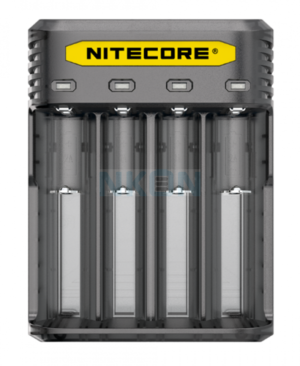 Nitecore Q4 Ladegerät - Blackberry