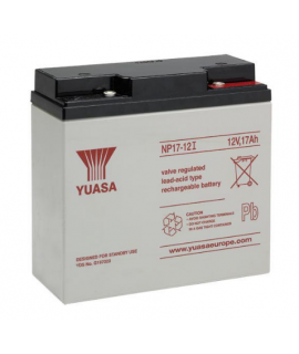 Yuasa 12V 17Ah Bleibatterie