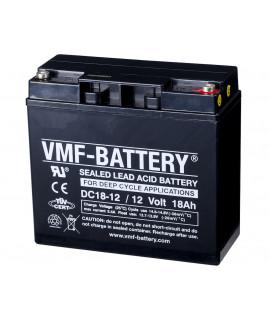VMF Deep Cycle 12V 18Ah Blei-Säure-Batterie