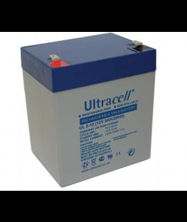 Ultracell 12V 5Ah Bleibatterie