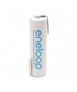 1 AA Eneloop Batterie mit Lötfahne Z-Form  - 1900mAh