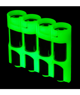 4 AA Powerpax Batteriebox  - glow in the dark