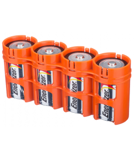 4 D Batteriefach von Powerpax