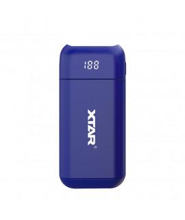XTAR PB2 powerbank / ladegerät - Blau