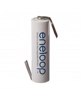 1 AAA Eneloop Batterie mit Lötfahne Z-Form  - 750 mAh