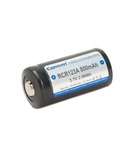 Keeppower RCR123A 800mAh (protected) - 1.6A