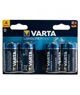 4x D Varta Longlife Power - 1.5V