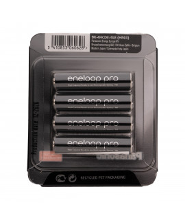 4 AAA Eneloop Pro - slider blister - 930 mAh