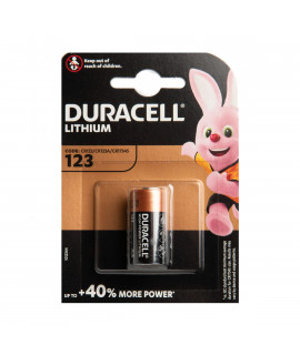 Duracell CR123A Lithium - blister