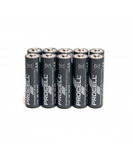 10 AA Duracell Procell