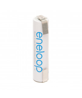 1 AAA Eneloop Batterie mit Lötfahne U-Form  - 750 mAh