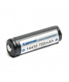 Keeppower 14430 700mAh (protected) - 4A
