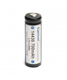 Keeppower 14430 700mAh - 4A