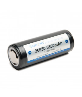 Keeppower 26650 5500mAh (protected) - 10A