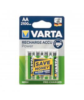 4 AA Varta Recharge Accu Power - 2100mAh