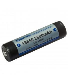 Keeppower 18650 2600mAh (geschützt) - 5.2A