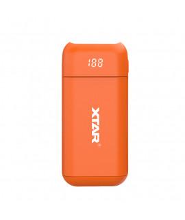 XTAR PB2 powerbank / ladegerät - Orange