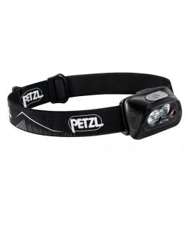 Petzl Actik Black Head Lampe - 350 Lumen