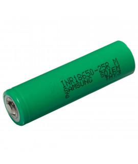 Samsung INR18650-25R 2500mAh - 20A erhöht (button top)