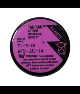 Tadiran TL-5134 / 1/10 D Lithiumbatterie mit 3 Lötstiften