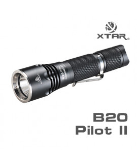 XTAR B20 Pilot II Sport Taschenlampe